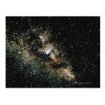 Cometa de Halleys en la vía láctea Tarjetas Postales