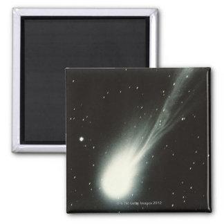Cometa de Halleys Imán Cuadrado