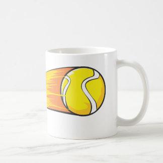 Cometa de la pelota de tenis taza
