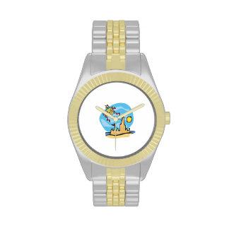 Cometa de la playa relojes