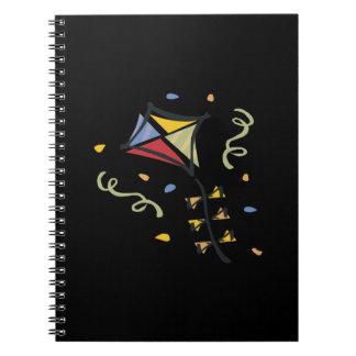Cometa del confeti cuaderno