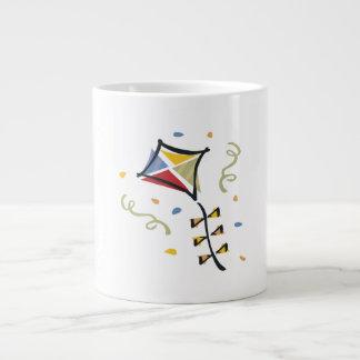 Cometa del confeti taza de café gigante
