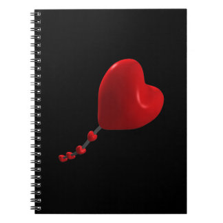 Cometa del corazón cuadernos