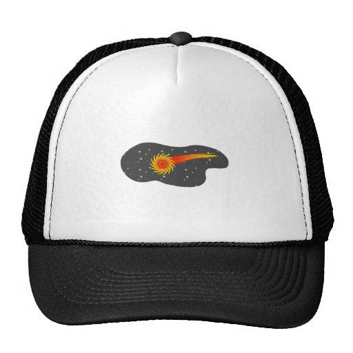 Cometa del espacio gorras