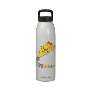 Cometa del payaso botellas de agua reutilizables