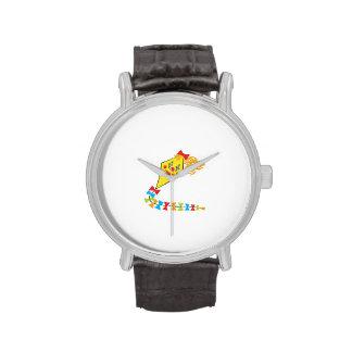 Cometa del payaso relojes de mano