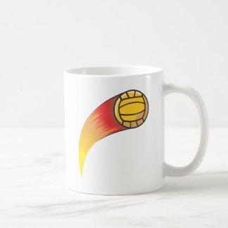 Cometa del voleibol tazas