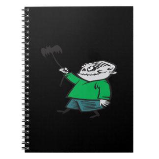 Cometa del vuelo del zombi cuadernos