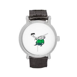 Cometa del vuelo del zombi relojes de pulsera