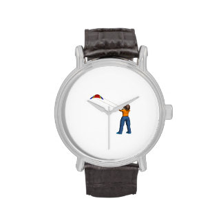 Cometa femenina del vuelo relojes de pulsera
