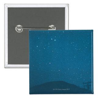 Cometa Iras-Araki-Alcock Pin Cuadrado