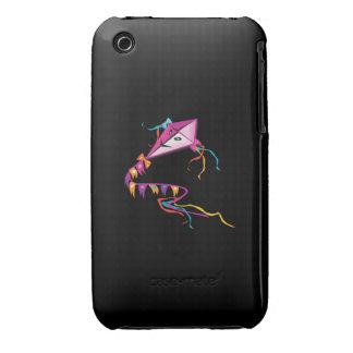Cometa púrpura festiva iPhone 3 Case-Mate cárcasa