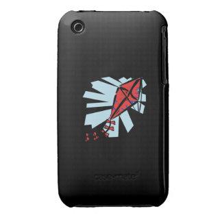 Cometa roja iPhone 3 cárcasas