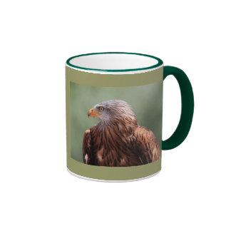 Cometa roja tazas de café