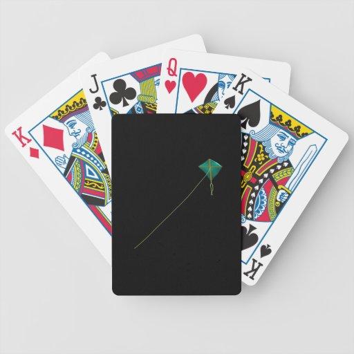 Cometa verde baraja de cartas