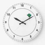 Cometa verde reloj