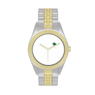 Cometa verde relojes de mano