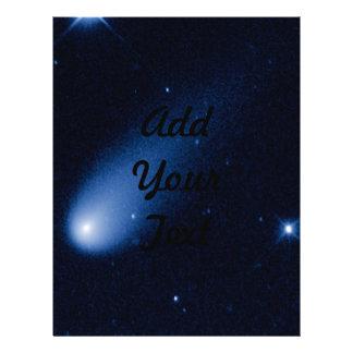 cometa y estrellas