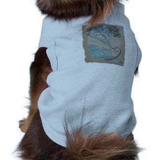 Cometa y Sr. viento del norte Camiseta De Mascota