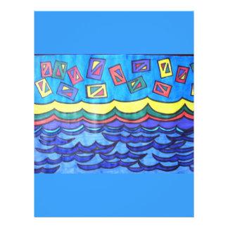 Cometas del océano tarjeton