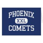 Cometas Delavan medio Wisconsin de Phoenix Felicitacion
