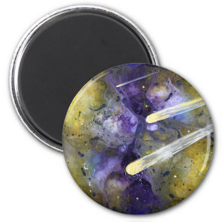 Comets 2 Inch Round Magnet