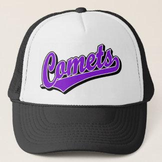 Comets in Purple Trucker Hat