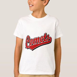 Comets in Red T-Shirt
