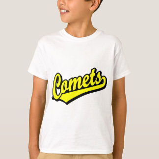 Comets in Yellow T-Shirt
