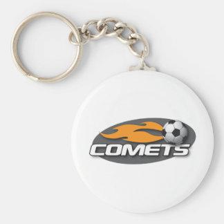 Comets Keychain