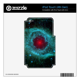 Comets Kick Up Dust in Helix Nebula iPod Touch 4G Skin
