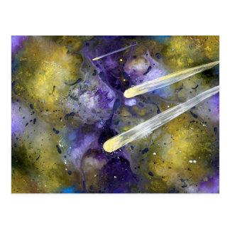 Comets Postcard