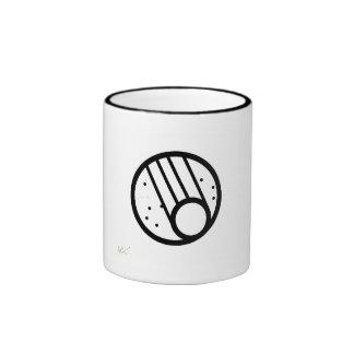Cometworks Logo (uncolored) Ringer Mug