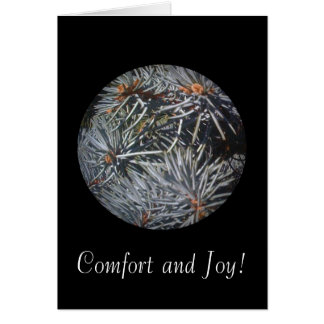 Comfort and Joy 1 Card