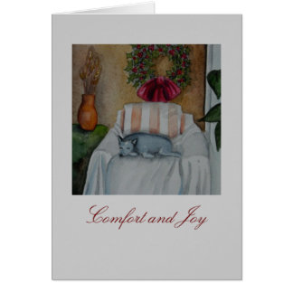Comfort and Joy Card