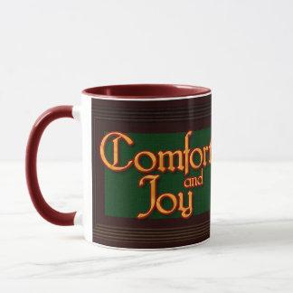 Comfort and Joy Christmas mug