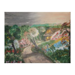 Comfort Cottage Gallery Wrapped Canvas