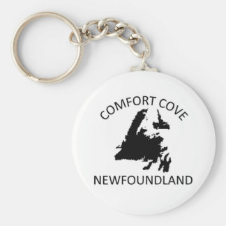 Comfort Cove Basic Round Button Keychain