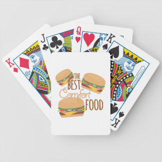 Comfort Food Bicycle Playing Cards