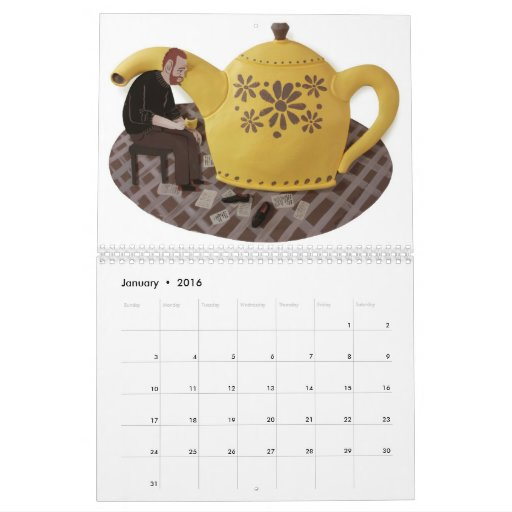 comfort food Calendar 2011