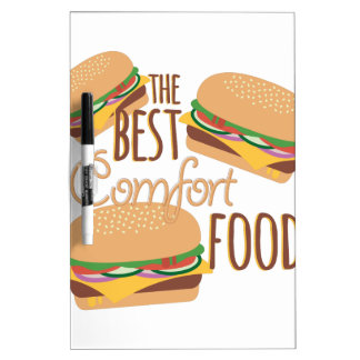 Comfort Food Dry-Erase Board