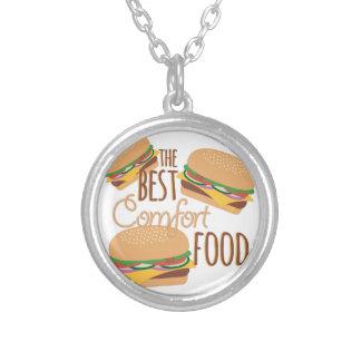 Comfort Food Round Pendant Necklace