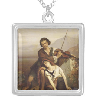 Comfort in Grief, c.1852 Personalized Necklace