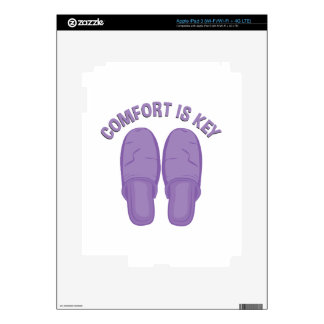 Comfort Is Key Decals For iPad 3