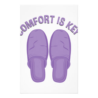 Comfort Is Key Stationery