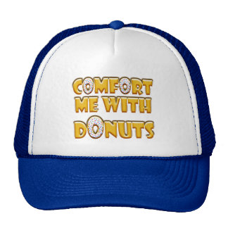 Comfort Me With Donuts Trucker Hat