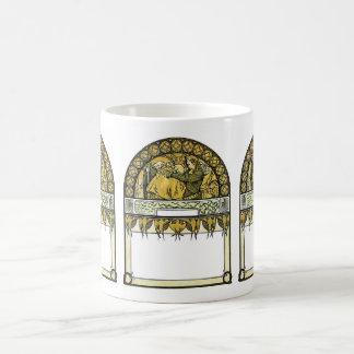 comfort classic white coffee mug
