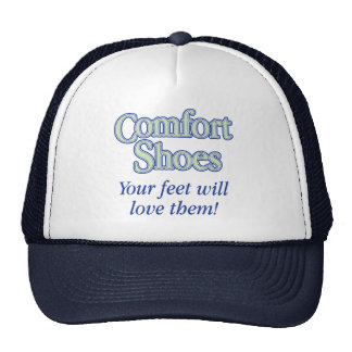 Comfort Shoes Trucker Hat