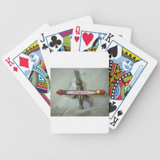 Comfort zone Hakuna Matata Always Love Gifts for a Bicycle Playing Cards