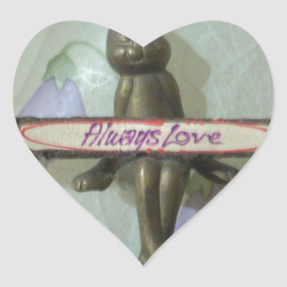 Comfort zone Hakuna Matata Always Love Gifts for a Heart Sticker